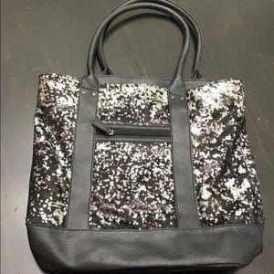 APT.9 black iridescent bag